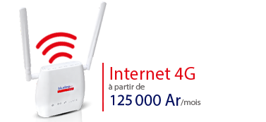 nouveau modem internet 4G blueline